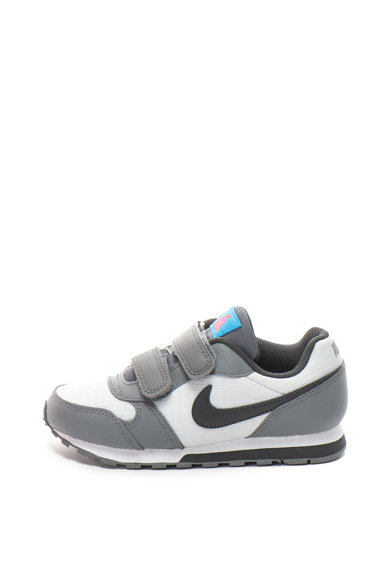 Nike MD Runner tépőzáras cipő bőrbetétekkel Fiú