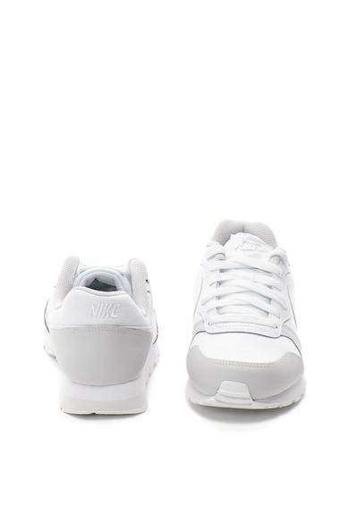 Nike MD Runner 2 cipő bőrszegélyekkel Lány