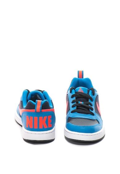 Nike Pantofi sport de piele Court Borough Baieti