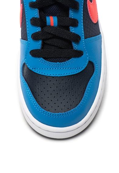 Nike Кожени спортни обувки Court Borough Момчета