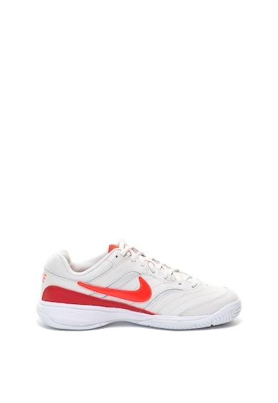 Nike Pantofi sport de piele si piele ecologica, pentru tenis Court Lite Femei