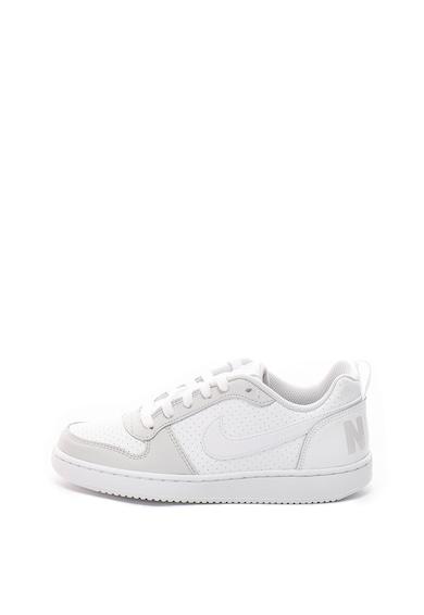 Nike Pantofi sport cu garnituri de piele Court Borought Fete
