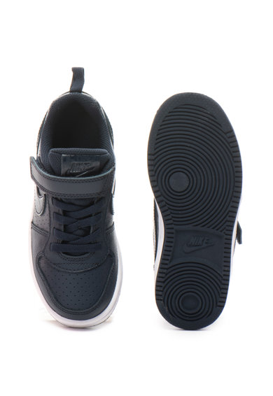 Nike Court Borough bőr sneakers cipő logóval Fiú