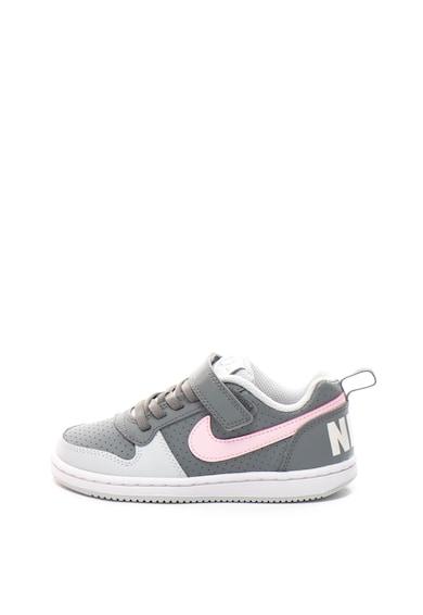 Nike Спортни обувки Court Borough от кожа и еко кожа Момичета