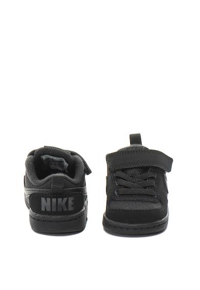 Nike Pantofi sport cu garnituri de piele Court Borough Baieti