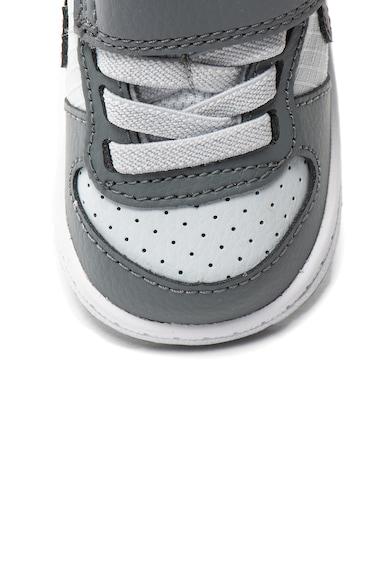 Nike Court Borough Low sneakers cipő bőrszegélyekkel Fiú
