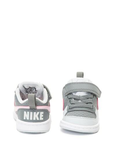 Nike Pantofi sport cu insertii de piele Court Borough Fete
