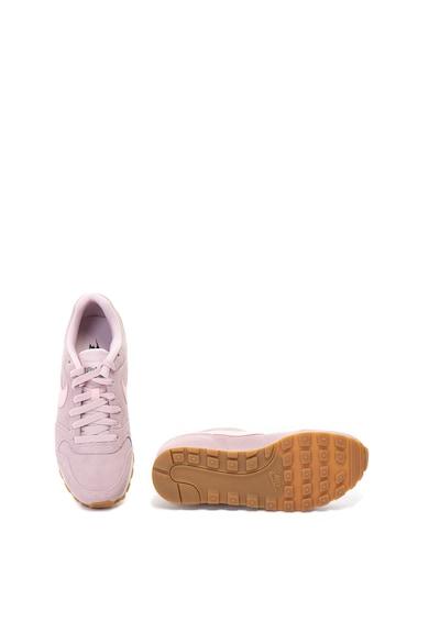 Nike Pantofi sport de piele si piele intoarsa MD Runner 2 Femei
