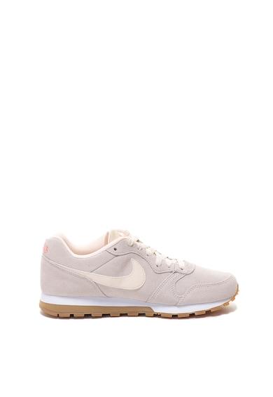 Nike Pantofi sport de piele intoarsa cu garnituri de piele MD Runner 2 Femei