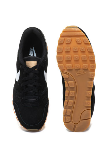 Nike MD Runner 2 nyersbőr sneakers cipő kontrasztos logóval férfi