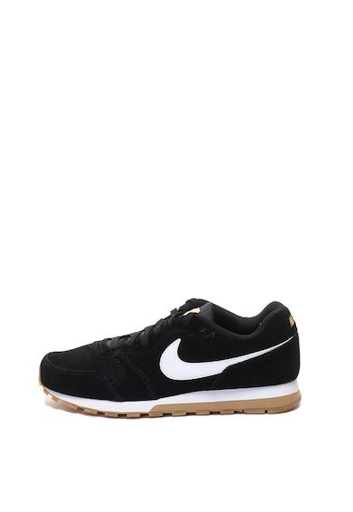 Nike Велурени спортни обувки MD Runner 2 с контрастно лого Мъже