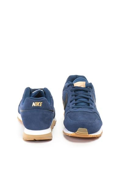 Nike Pantofi sport de piele intoarsa Runner Barbati