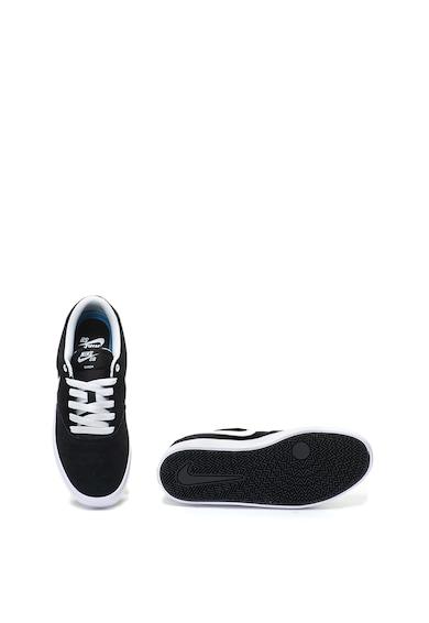 Nike Велурени спортни обувки SB Check Solar с кожени детайли Жени