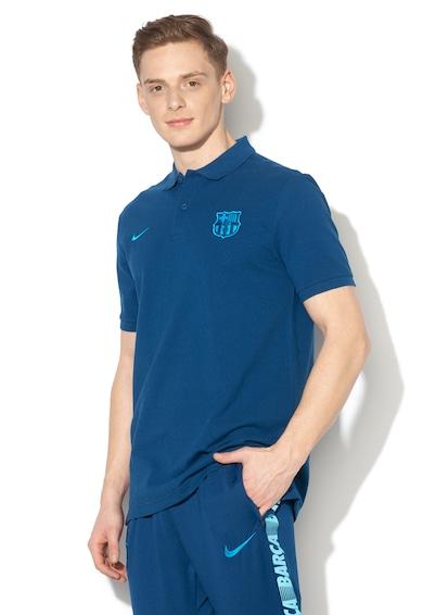 Nike Futball galléros piképóló hímzett logóval férfi