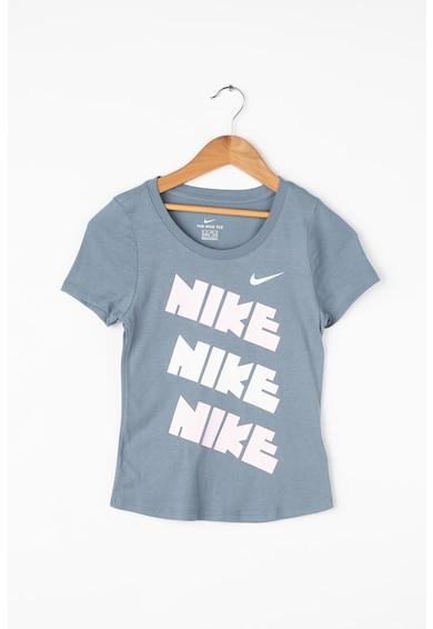 Nike Tricou cu imprimeu logo103 Fete