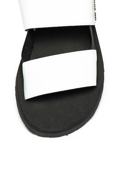 Love Moschino Сандали с отворена пета и лого Жени