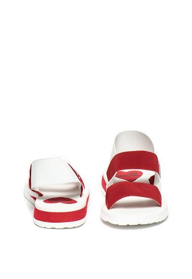 Love Moschino Sandale cu bareta slingback si detaliu logo Femei