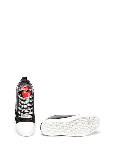 Love Moschino Műbőr sneaker logómintával női