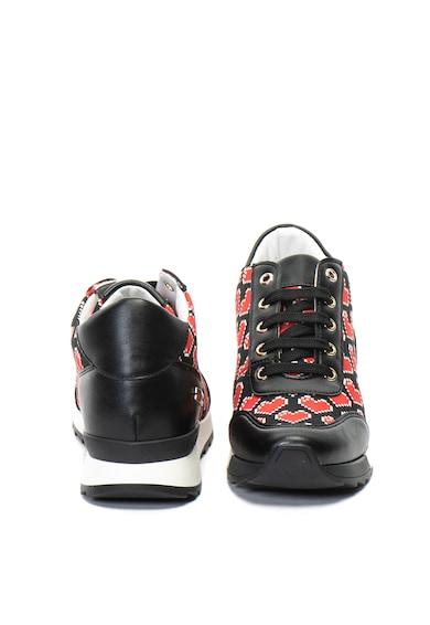 Love Moschino Спортни обувки с шарка на сърца Жени