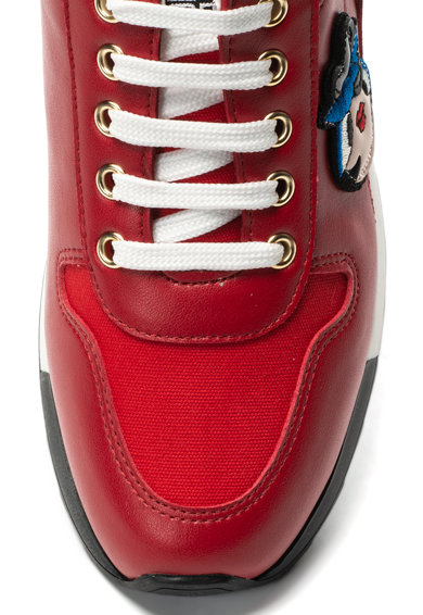 Love Moschino Спортни обувки със скрита платформа и лого Жени