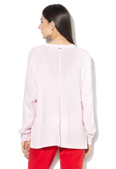 Liu Jo Finomkötött pulóver aszimmetrikus alsó szegéllyel női