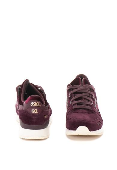 Asics Pantofi sport de piele intoarsa cu detalii catifelate Gel-Lyte III Femei