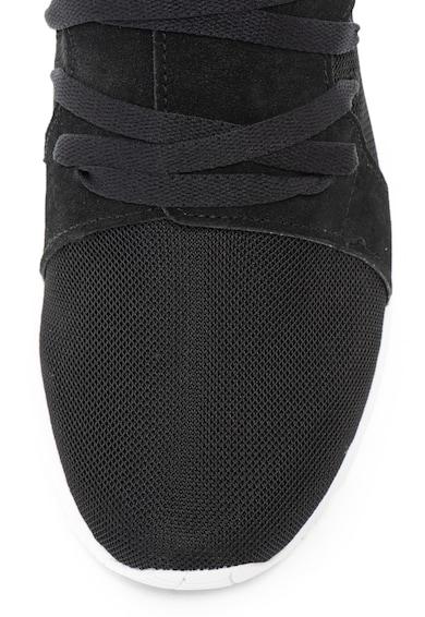 ASICS Tiger Pantofi sport de piele intoarsa si material textil Gel-Lyte Sanze St Femei