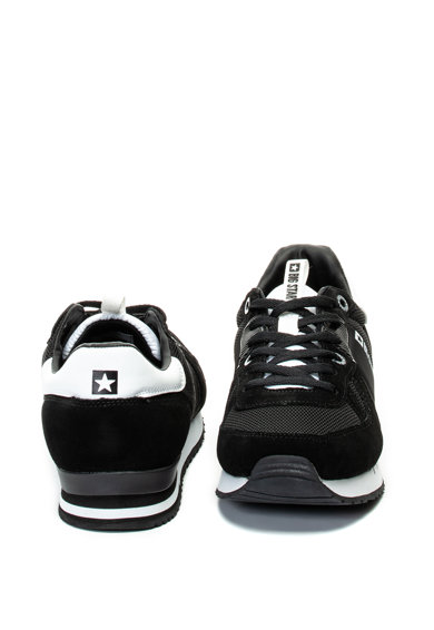 Big Star Pantofi sport cu garnituri de piele intoarsa Bicolored Barbati
