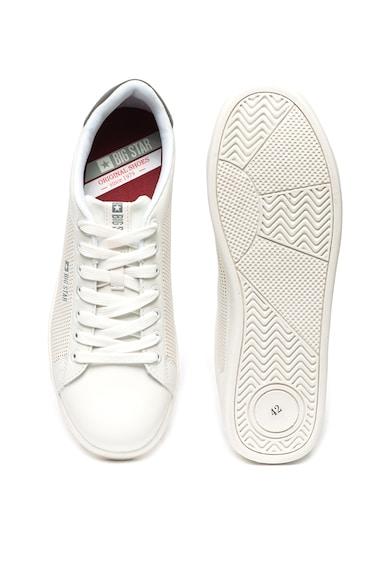 Big Star Pantofi sport de piele ecologica cu perforatii Barbati