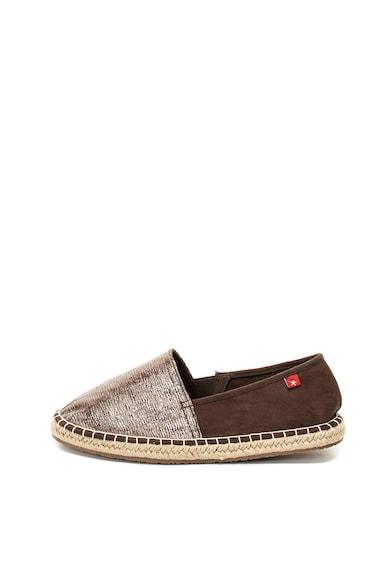 BIG STAR Pantofi loafer cu aspect metalic Femei