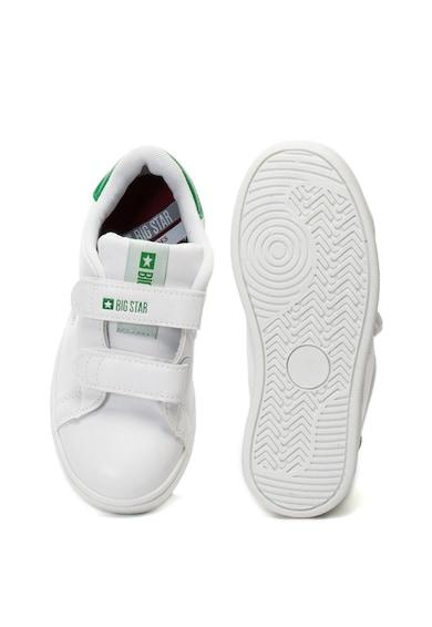 Big Star Pantofi sport de piele ecologica, cu velcro Baieti