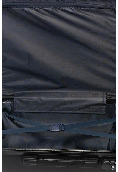 Laura Biagiotti Merev falú bőrönd domború logóval férfi