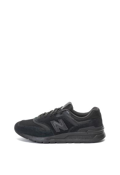 New Balance Pantofi sport de piele intoarsa si material textil 997H Barbati