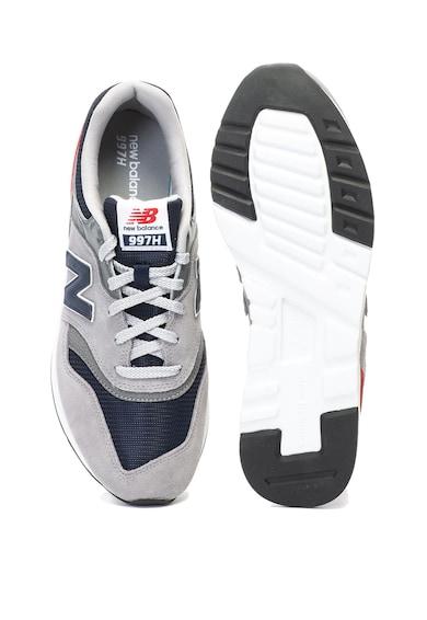 New Balance 997H sneakers cipő nyersbőr betétekkel férfi