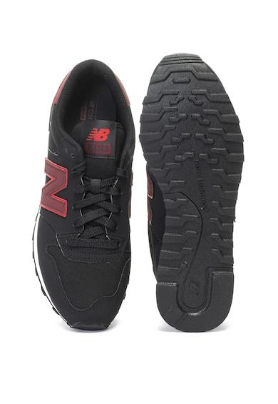 New Balance Pantofi sport de piele si material textil 500 Barbati