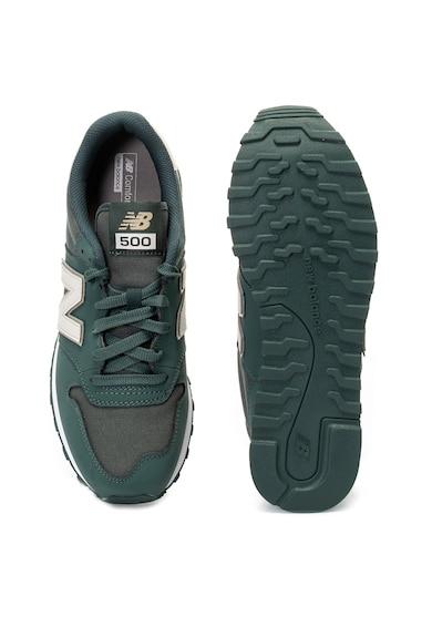 New Balance 500 ECO bőr és textil sneaker férfi