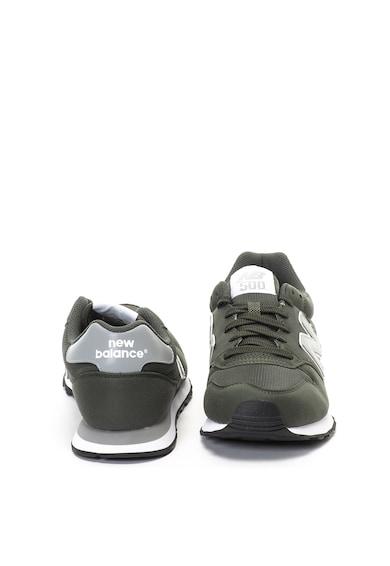 New Balance Pantofi sport de piele ecologica si plasa 500 Barbati