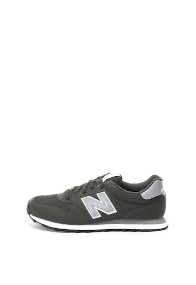 New Balance 500 műbőr és hálós sneakers cipő férfi