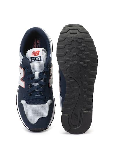 New Balance Pantofi sport de piele nabuc si plasa 500 Barbati