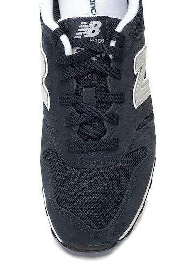 New Balance Pantofi sport de piele intoarsa si material textil 373 Barbati