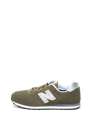 New Balance Pantofi sport de piele intoarsa cu insertii de material textil 373 Barbati