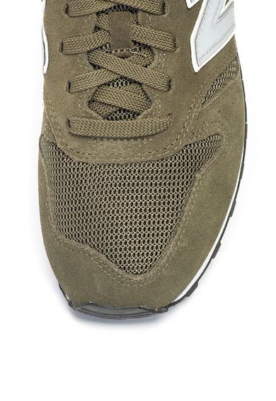 New Balance 373 nyersbőr sneakers cipő textilbetétekkel férfi