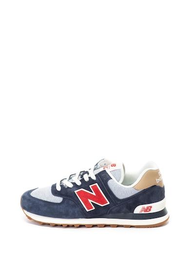 574 nyersbőr és textil sneakers cipő - New Balance (ML574PTR) 8cc291501a