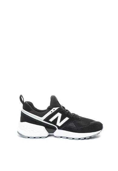 New Balance Велурени спортни обувки 574 с мрежа Мъже