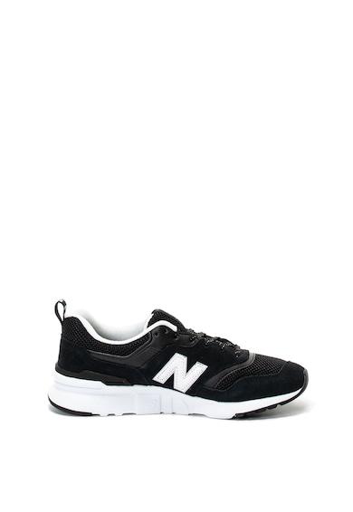 New Balance Pantofi sport cu garnituri de piele intoarsa 997H Femei