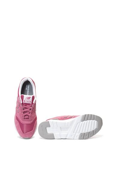New Balance 997 cipő nyersbőr szegélyekkel női