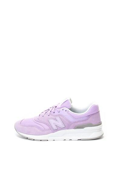 New Balance 997H nyersbőr és textil sneakers cipő női