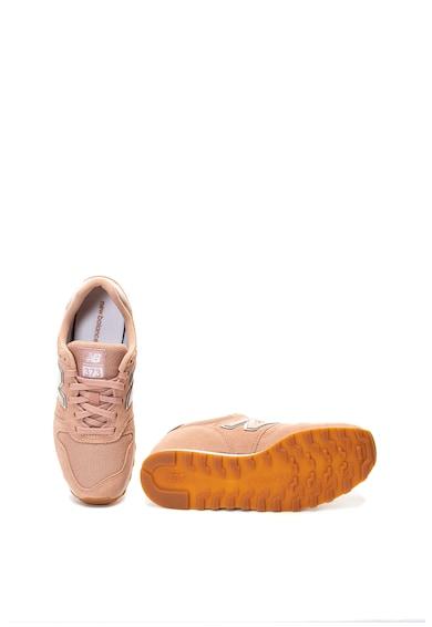 New Balance 373 cipő nyersbőr betétekkel női