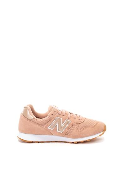New Balance Pantofi sport cu insertii de piele intoarsa 373 Femei