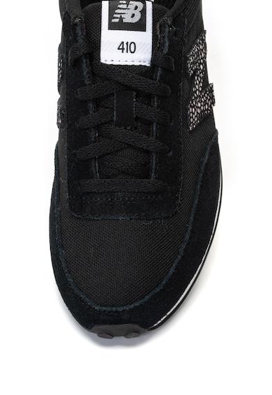 New Balance Pantofi sport cu insertii de plasa si piele intoarsa 410 Femei